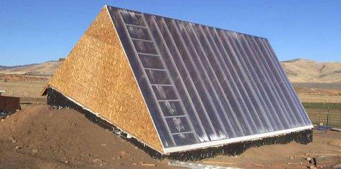 walipini sklenik podzemny ekologicke zahrada zahradnictvo pestovanie solarne zdroj 3 Postavte si podzemný skleník za menej ako 200 Eur na celoročné záhradníctvo