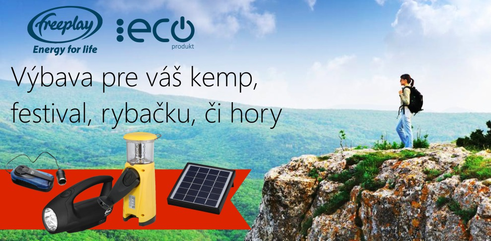 kemping-dynamo-nabijacka-mobil-iPhone-smartphone-freeplay-cista-energia-ecoprodukt.sk-banner