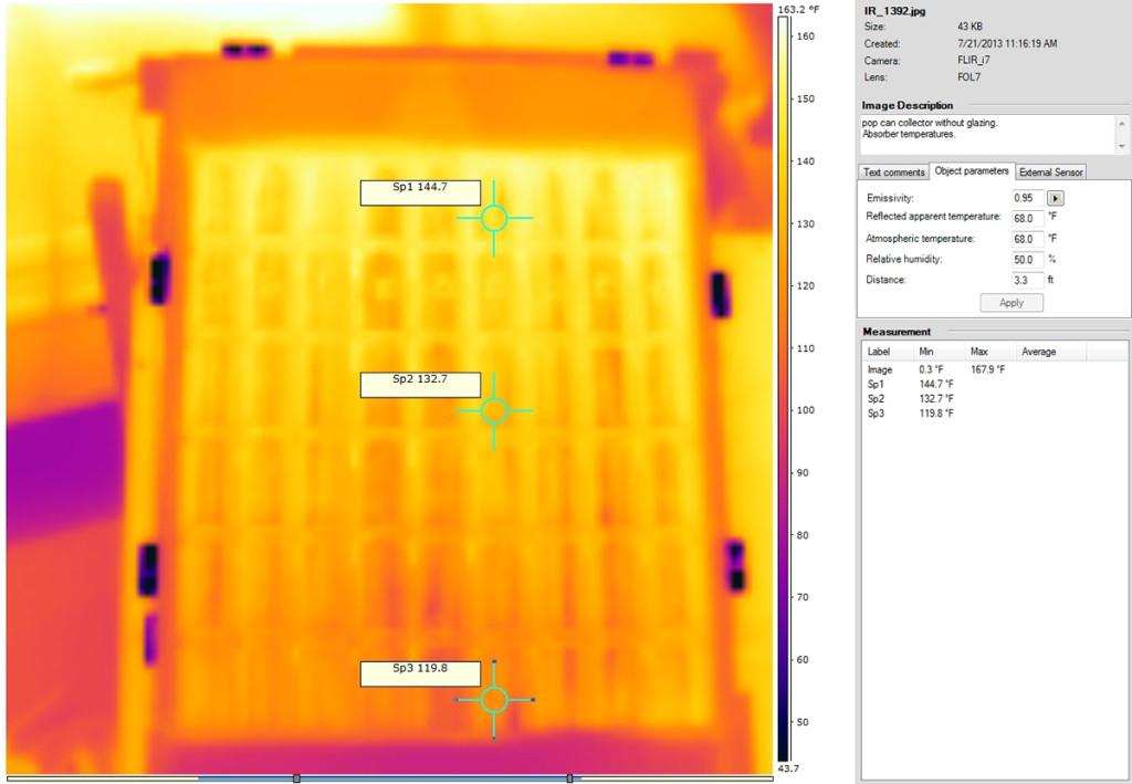 solarny kolektor energia vykurovanie obnovitelne zdroje ohrev 8 1024x709 Urob si sám: Výkonný solárny kolektor z hliníkových plechoviek za pár euro