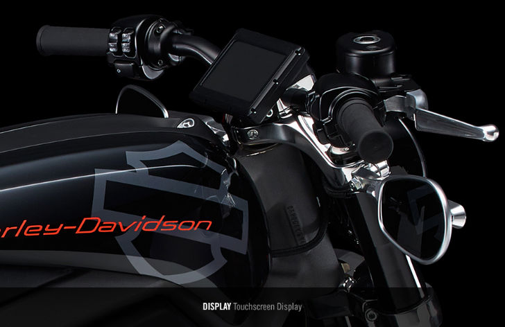 Harley-Davidson-Livewire-Controls