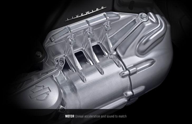 Harley-Davidson-Livewire-Engine