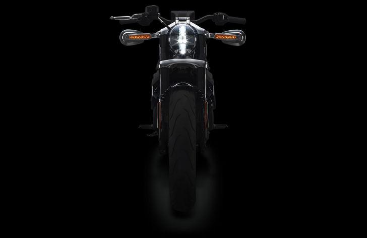 Harley-Davidson-Livewire-Front