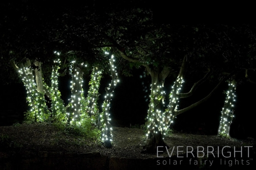 Solarne vianoce osvertlenie LED