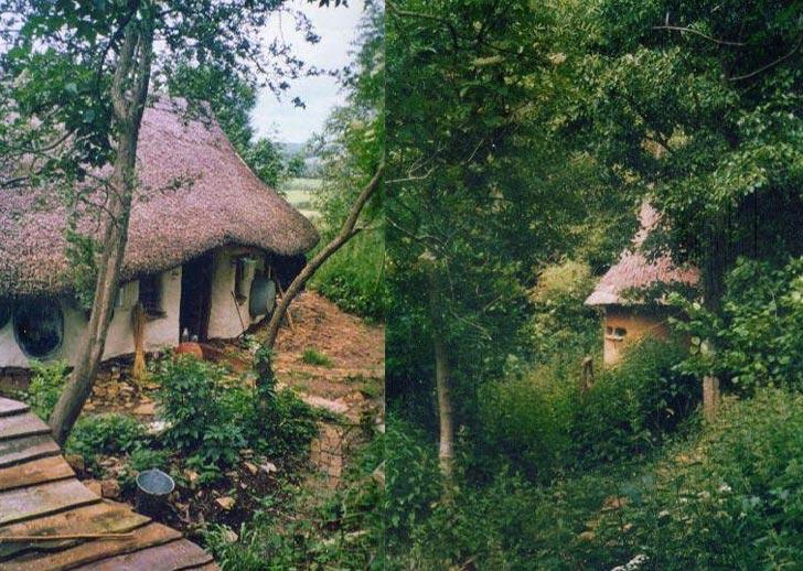 michael buck cob house oxfordshire england 6a Učiteľ umenia na dôchodku si postavil rozprávkový hlinený dom za 200 €