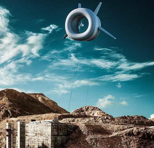airborne veterna turbina 1 Lietajúce veterné turbíny lámu rekordy v efektivite a návratnosti