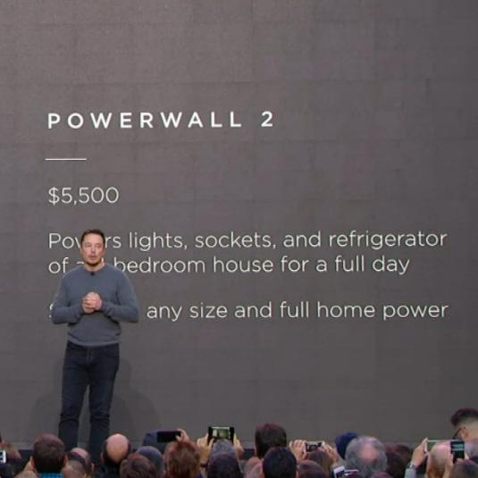 tesla powerwall Tesla Powerwall 2.0 s kapacitou 14kWh