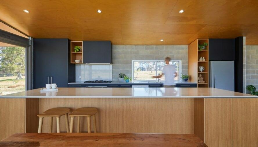 0101 Moderný pasívny dom z Austrálie so solárnou technológiou