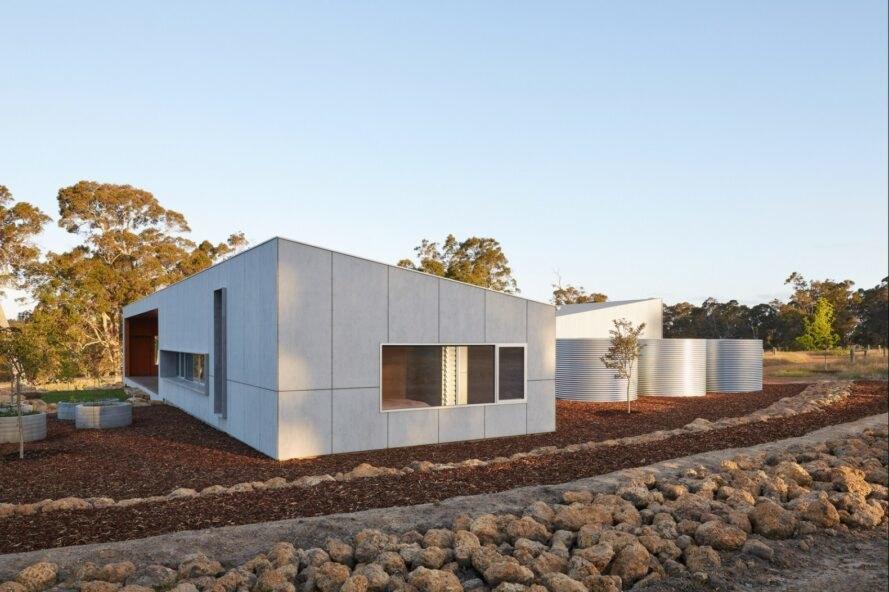 0303 Moderný pasívny dom z Austrálie so solárnou technológiou