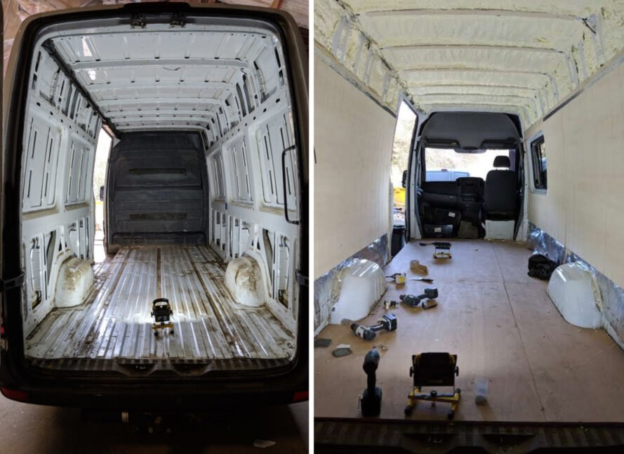 Jules1 889x648 Mercedes prerobený na unikátny karavan s dvomi lôžkami a útulným interiérom
