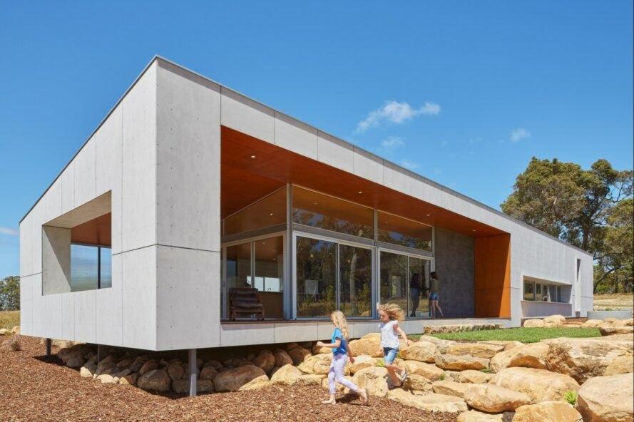 Paddock House10 889x592 Moderný pasívny dom z Austrálie so solárnou technológiou