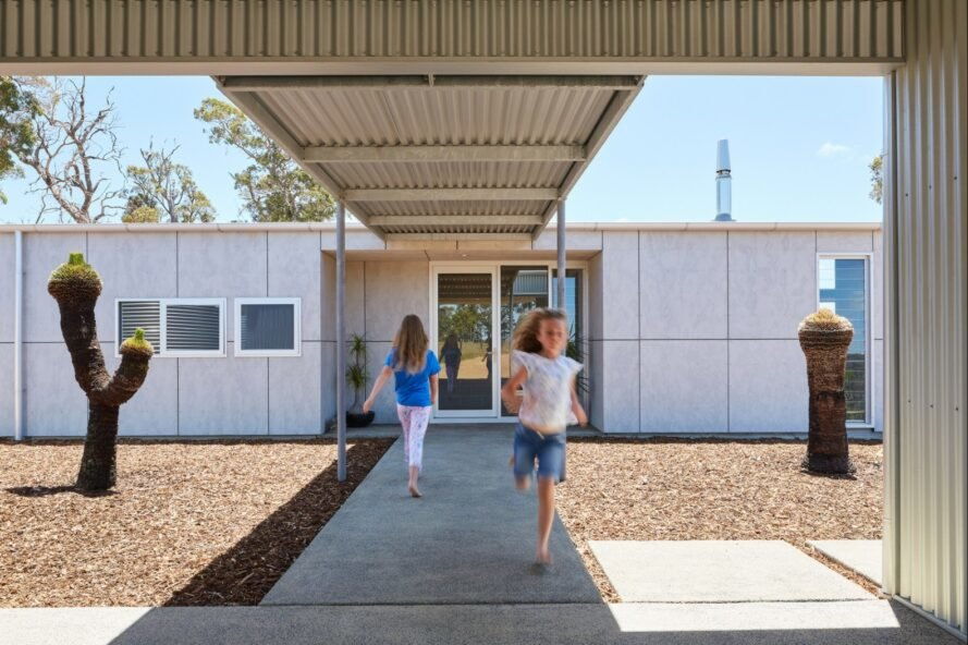 Paddock House12 889x592 Moderný pasívny dom z Austrálie so solárnou technológiou