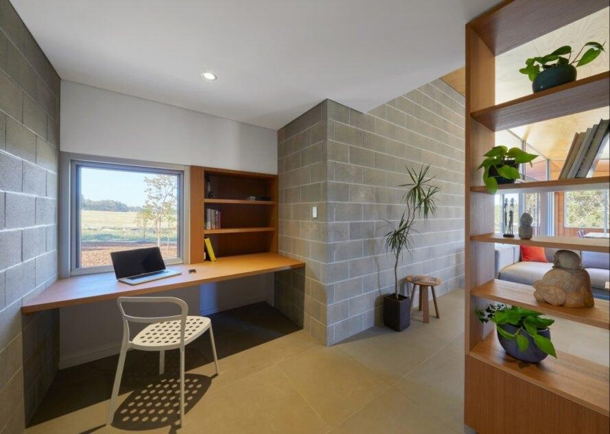 Paddock House14 889x633 Moderný pasívny dom z Austrálie so solárnou technológiou