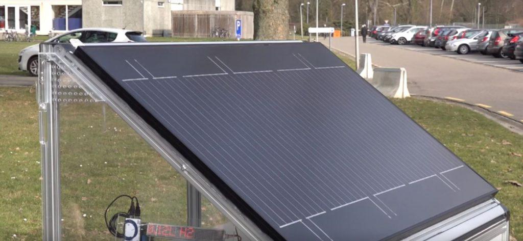 hydrogen solar panel KU Leuven 1024x473 Vedci vyrobili nový solárny panel vyrábajúci vodík