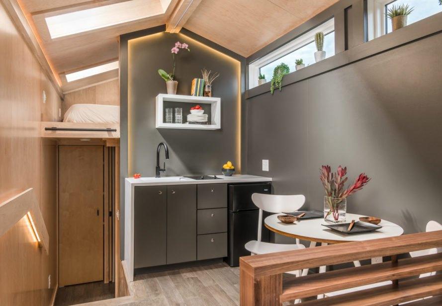 mobilný dom kuchyňa