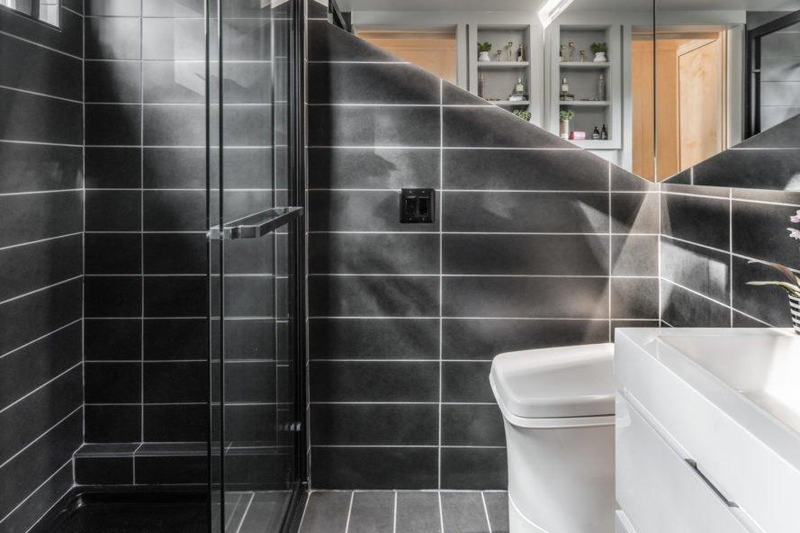 mobilný dom kúpeľňa