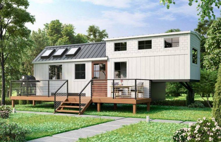 mobilny dom tiny house