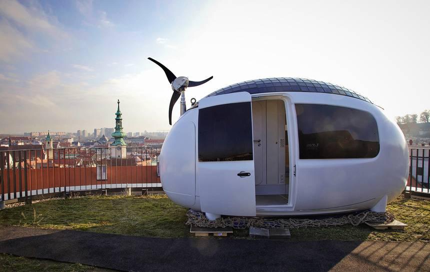 eco kapsula mobilný dom