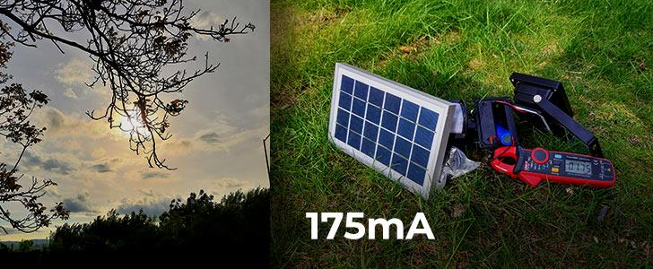 175 Potrebuje solárne osvetlenie slnko? Alebo stačí len denné svetlo?