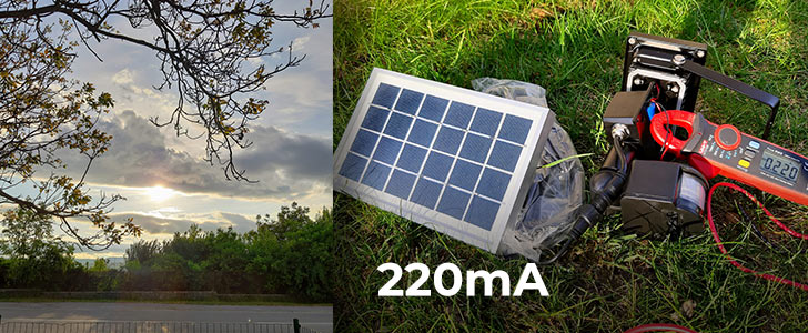 220 Potrebuje solárne osvetlenie slnko? Alebo stačí len denné svetlo?