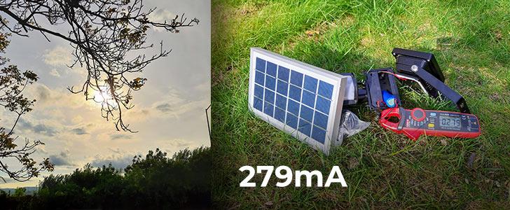 279 Potrebuje solárne osvetlenie slnko? Alebo stačí len denné svetlo?