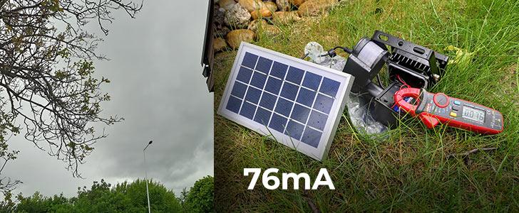 76 Potrebuje solárne osvetlenie slnko? Alebo stačí len denné svetlo?