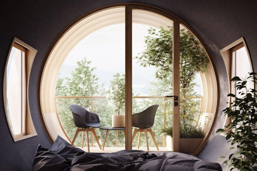 bert treehouse interier Rozprávkový Treehouse, inšpirovaný filmom Ja zloduch