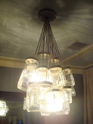 osvetlenie luster z poharov