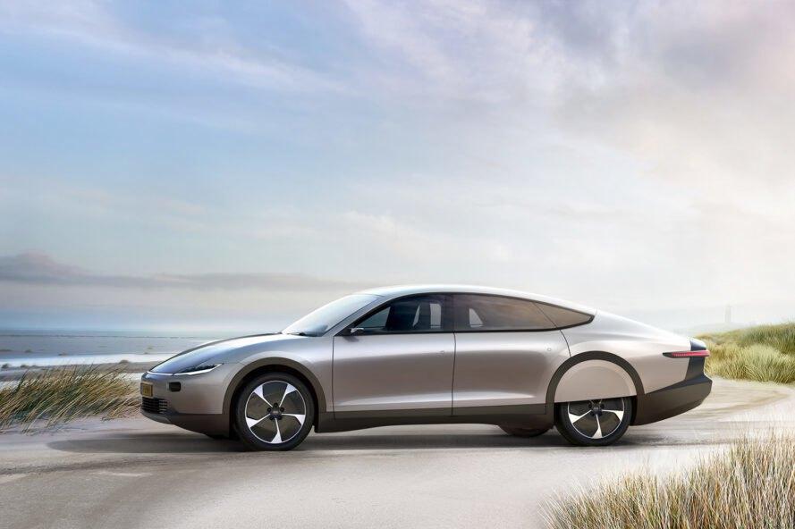 elektromobil solarne panely Elektromobil, ktorý využíva na zvýšenie energie solárne panely