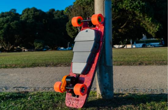 elekricky skateboard